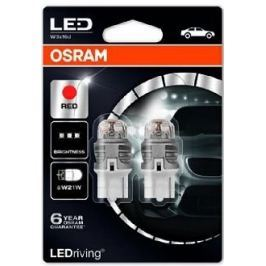Osram Žárovka typ W21W, 12V, 1,5W LED, Ledriving červená