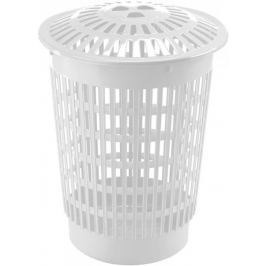 Heidrun Koš na špinavé prádlo kulatý 60 l bílá