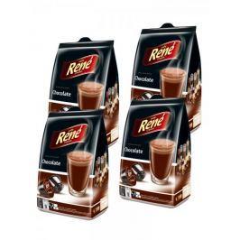 René Chocolate kapsle pro kávovary Dolce Gusto 16 ks, 4 balení
