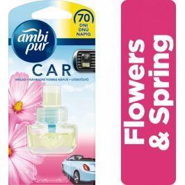 Ambi Pur Car Flowers & Spring Náplň do osvěžovače vzduchu do auta 7 ml