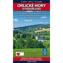 kolektiv autorů: Orlické hory a Podorlicko - Česko všemi smysly + vstupenky