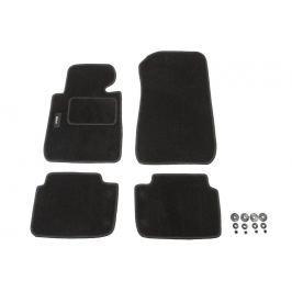 MAMMOOTH Koberce textilní, BMW 3 (E46) 1998-2005, černé, sada 4 ks