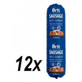 Brit Sausage Turkey 12 x 800 g