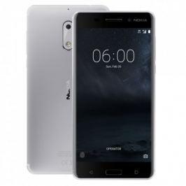 Nokia 6 Dual SIM, stříbrná