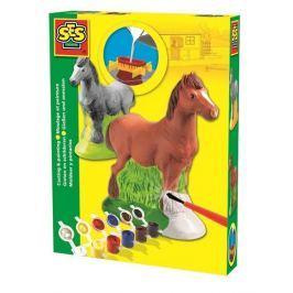 SES Sádrový komplet - kůň