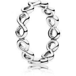 Pandora Stříbrný prsten Nekonečno 190994 (Obvod 58 mm) stříbro 925/1000