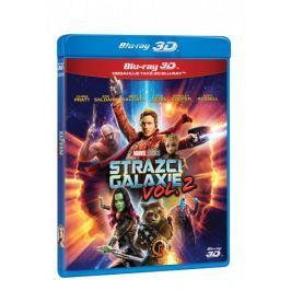 Strážci Galaxie Vol. 2  3D+2D (2 disky)   - Blu-ray