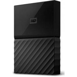 WD My Passport 4TB, černá (WDBYFT0040BBK-WESN) - II. jakost
