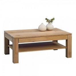 Artenat Konferenční stolek z masivu Denis, 105 cm, dub Bianco