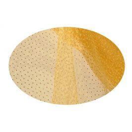 EverGreen Dekorační organza puntíky zlatá 2 x 1,5 m