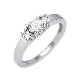 Brilio Silver Stříbrný prsten s krystaly 426 001 00498 04 - 2,03 g (Obvod 52 mm) stříbro 925/1000