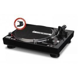 RELOOP RP-4000M + OM Black DJ gramofon s přímým náhonem