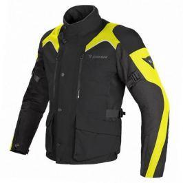 Dainese bunda TEMPEST D-DRY vel.64 černá/černá/fluo žlutá, textilní