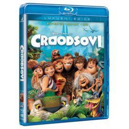 Croodsovi  (3D + 2D verze na BD + film na DVD)   - Blu-ray + DVD