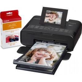 Canon CP1200 SELPHY Black + sada RP-54 (náplň a papíry na 54 fotek)
