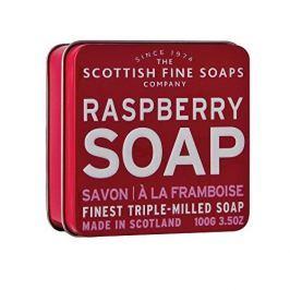 Scottish Fine Soap Mýdlo v plechu Malina 100 g