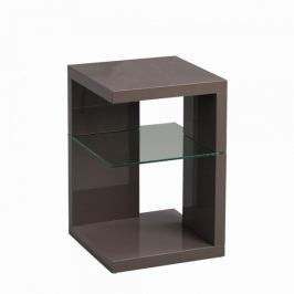 Artenat Odkládací stolek Domingo, 60 cm, antracitová