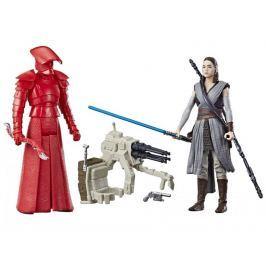 Star Wars E8 Dvě deluxe figurky Force Link - REY