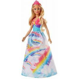 Mattel Barbie princezna - růžová čelenka