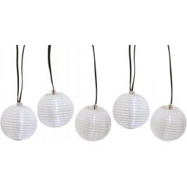 Kaemingk LED solar lampiony bílé 450 cm