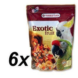 Versele Laga Exotic směs ovoce, obilovin a semen pro velké papoušky 6 x 600g