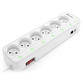 Revogi Smart Power Strip 2. 6x bezdr. zásuvka, WiFi - II. jakost