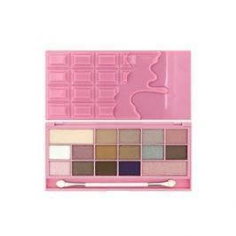 Makeup Revolution Zázračná paletka očních stínů Růžové šampaňské I LOVE MAKEUP (I Heart Chocolate Pink Fizz)