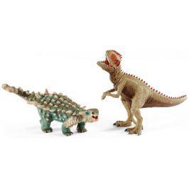 Schleich Prehistorická sada Giganotosaurus a Saichania 41426