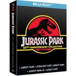 Kolekce Jurský park 1-4 (4BD)   - Blu-ray