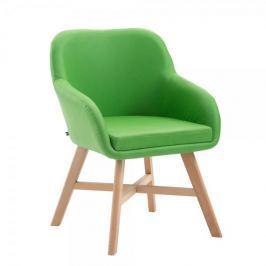 BHM Germany Jídelní / jednací židle Johan, zelená