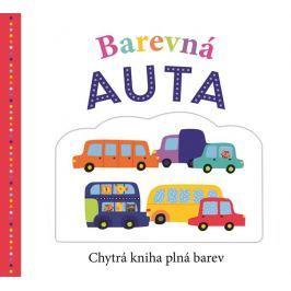 Jennings Emma, Word Kate, Newton Robyn,: Barevná auta - Chytrá kniha plná barev