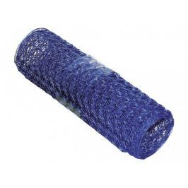 DEKO ozdobné dekorativní pletivo modré - role 2,5 m