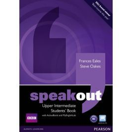 Oakes Steve: Speakout Upper Intermediate Students´ Book with DVD/Active Book and MyLab Pack