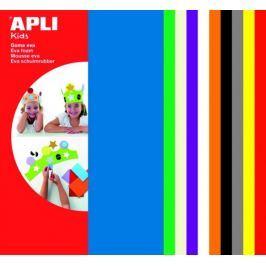 Pěnovka APLI 200x300x2 mm mix barev/10 listů