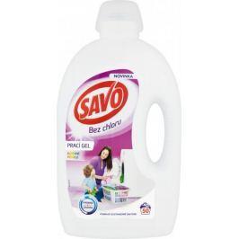 Savo Prací gel na barevné prádlo 2,5 l (50 praní)