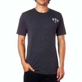 FOX pánské tričko Exiler Ss Tech S černá