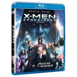 X-Men: Apokalypsa 3D + 2D (2BD)   - Blu-ray