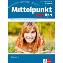 Butler E., Daniels A., Estermann Ch.,: Mittelpunkt B2.1 NEU- Učebnice s PS lekce 1-6