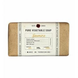 Fikkerts Hydratační rostlinné mýdlo Jasmín (Pure Vegetable Soap) 200 g