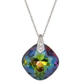 Preciosa Náhrdelník Brilliant Rose s krystalem Vitrail Medium 6011 41 stříbro 925/1000