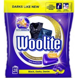Woolite gelové kapsle Black, Darks, Denim 28 ks