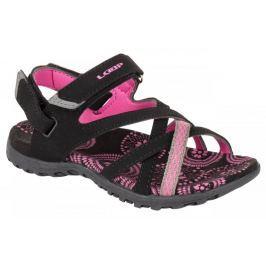 Loap dívčí sandály CAIPA JR 30 černá/růžová