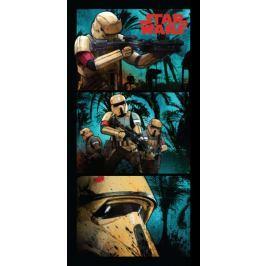 Jerry Fabrics Osuška Star Wars Stormtroopers 70x140 cm