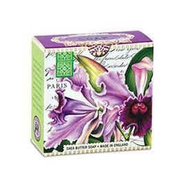 Michel Design Works Luxusní mýdlo v elegantní krabičce Orchidej (Shea Butter Soap) 100 g