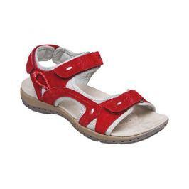 SANTÉ Zdravotní obuv dámská MDA/157-7 červená (Velikost vel. 37)
