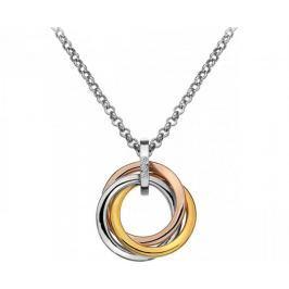 Hot Diamonds Stříbrný přívěsek Trio Rose Gold DP544 stříbro 925/1000