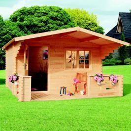 LanitPlast zahradní domek LANITPLAST ZINA 398 x 557 cm