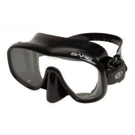 BARE Maska FRAMELESS černá