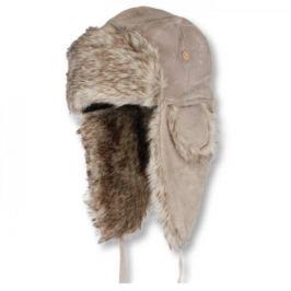 Eiger Ušanka Lady Suede Fur Hat Pale Khaki M