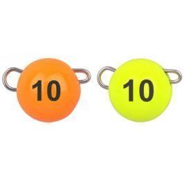 Spro Jigová Hlavička Freestyle Tungsten Bottom Jig Glow Fluo Orange/Chartreuse 3 g